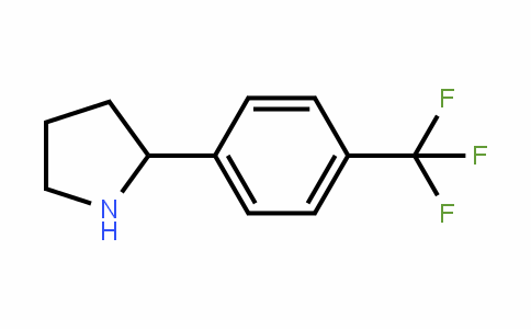 298690-84-3 | 2-[4-(Trifluoromethyl)phenyl]pyrrolidine
