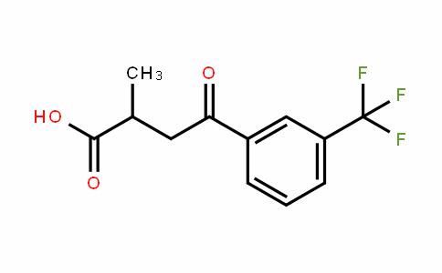 66549-17-5 | 2-Methyl-4-oxo-4-[3-(trifluoromethyl)phenyl]butanoic acid