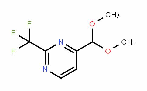 878760-47-5   4-(Dimethoxymethyl)-2-(trifluoromethyl)pyrimidine