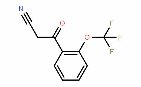 914636-80-9 | 2-(Trifluoromethoxy)benzoylacetonitrile