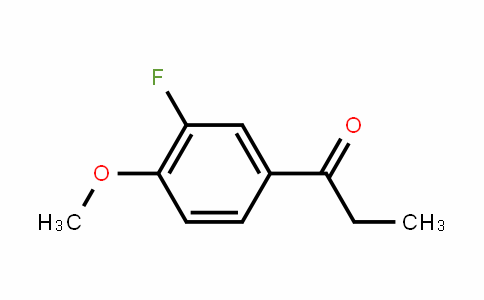 586-22-1 | 3'-Fluoro-4'-methoxypropiophenone
