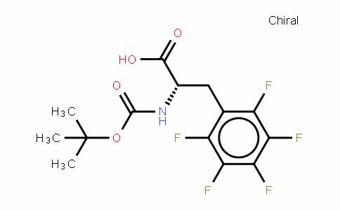 34702-60-8 | L-Pentafluorophenylalanine, N-BOC protected