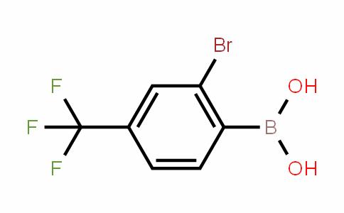 959997-88-7 | 2-BROMO-4-(TRIFLUOROMETHYL)PHENYLBORONIC ACID