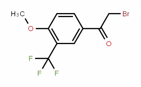 541550-00-9 | 4-Methoxy-3-(trifluoromethyl)phenacyl bromide