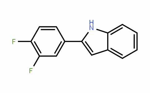 68290-36-8 | 2-(3,4-Difluorophenyl)indole