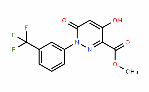 121582-55-6 | Methyl 1,6-dihydro-4-hydroxy-6-oxo-1-[3-(trifluoromethyl)phenyl]pyridazin-3-carboxylate
