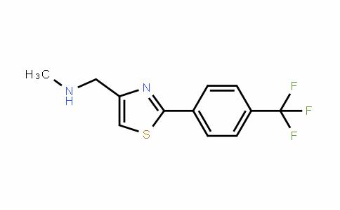 857284-26-5 | N-Methyl-N-{2-[4-(trifluoromethyl)phenyl]-1,3-thiazol-4-yl}methylamine