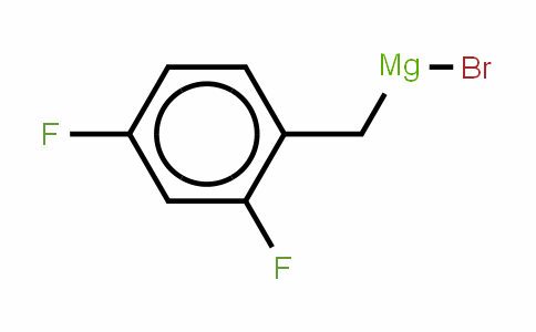 546122-71-8 | 2,4-Difluorobenzylmagnesium bromide, 0.25M solution in diethyl ether