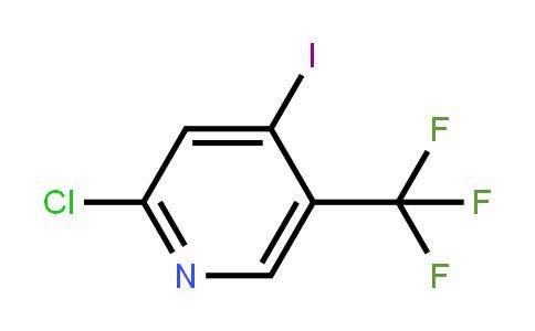 505084-55-9 | 2-Chloro-4-iodo-5-(trifluoromethyl)pyridine