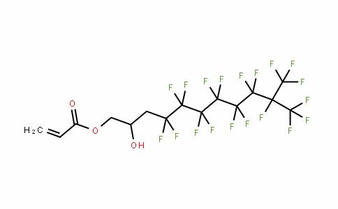 24407-09-8 | 3-(Perfluoro-7-methyloct-1-yl)-2-hydroxypropyl acrylate