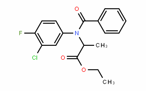 34029-27-1 | Ethyl 2-(N-benzoyl-3-chloro-4-fluoroanilino)propanoate