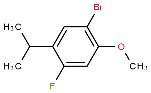 944317-92-4 | 1-BroMo-4-fluoro-5-isopropyl-2-Methoxybenzene