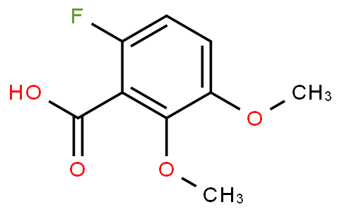 265670-72-2 | 6-Fluoro-2,3-dimethoxybenzoic acid