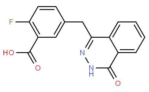 763114-26-7   2-Fluoro-5-((4-oxo-3,4-dihydrophthalazin-1-yl)methyl)benzoic acid