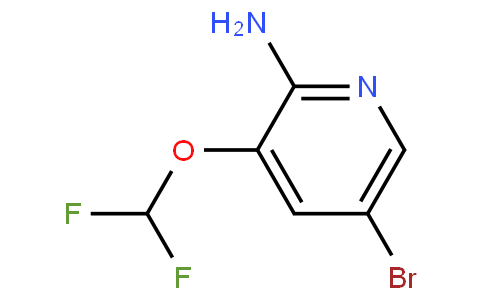 947249-13-0 | 2-Amino-3-difluoromethoxy-5-bromopyridine