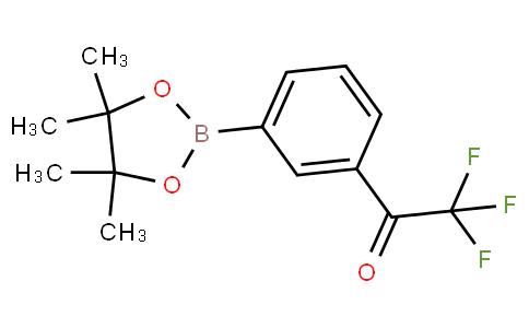 631909-42-7   2,2,2-Trifluoro-1-[3-(4,4,5,5-tetramethyl-1,3,2- dioxaborolan-2-yl)phenyl]ethan-1-one
