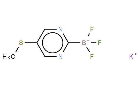 1245906-73-3 | Potassium trifluoro(2-(methylthio)pyrimidin-5-yl)borate