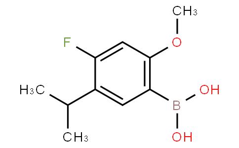 875446-29-0 | (4-Fluoro-5-isopropyl-2-methoxyphenyl)boronic acid