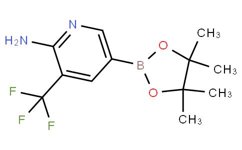 947249-01-6 | 5-(4,4,5,5-Tetramethyl-1,3,2-dioxaborolan-2-yl)-3-(trifluoromethyl)pyridin-2-amine
