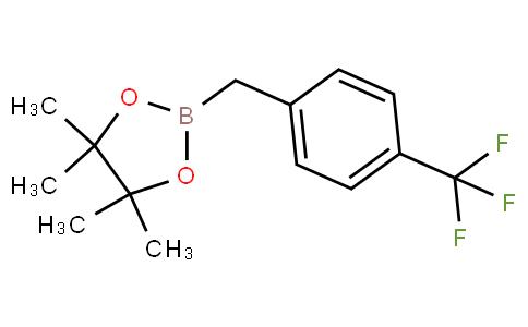475250-46-5 | 2-(4-(Trifluoromethyl)benzyl)-4,4,5,5-tetramethyl-1,3,2-dioxaborolane