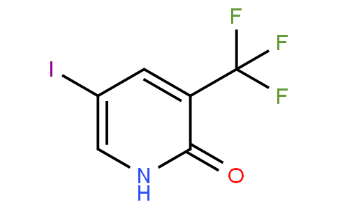 887707-23-5 | 5-Iodo-3-(trifluoromethyl)-2(1H)-pyridinone