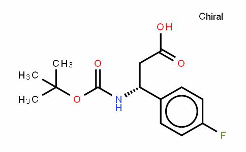 479064-94-3 | Boc-(R)-3-Amino-3-(4-fluoro-phenyl)-propionic acid