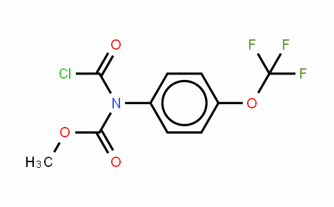 173903-15-6 | Methyl chlorocarbonyl 4-(trifluoromethoxy)phenyl carbamate