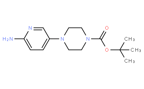 tert-Butyl 4-(6-Amino-3-pyridyl)piperazine-1-carboxylate