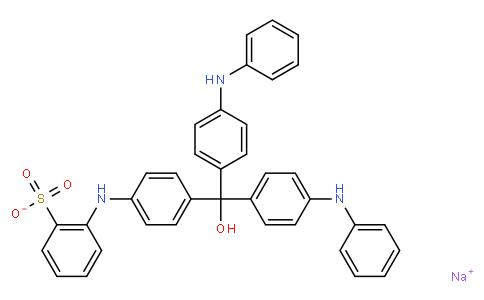 Sodium 2-((4-(hydroxybis(4-(phenylamino)phenyl)-methyl)phenyl)amino)benzenesulfonate