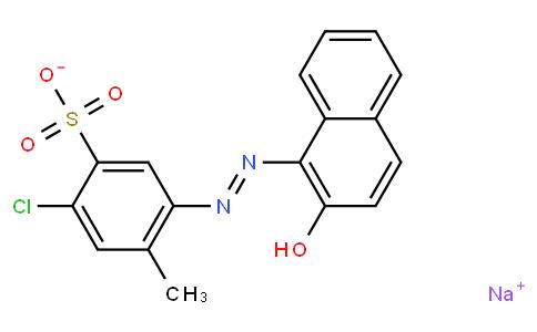 sodium 5-chloro-2-(2-hydroxy-1-naphthylazo)toluene-4-sulfonate