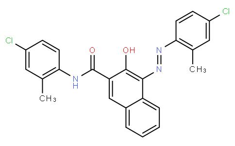 N-(4-chloro-2-methylphenyl)-4-[(4-chloro-2-methylphenyl)azo]-3-hydroxynaphthalene-2-carboxamide