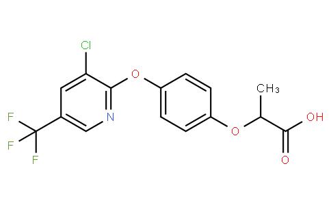 2-(4-((3-Chloro-5-(trifluoromethyl)pyridin-2-yl)oxy)phenoxy)propanoic acid