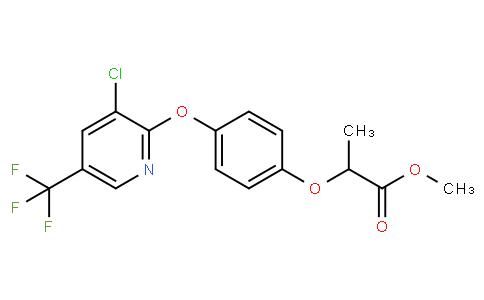 Methyl 2-(4-((3-chloro-5-(trifluoromethyl)-pyridin-2-yl)oxy)phenoxy)propanoate