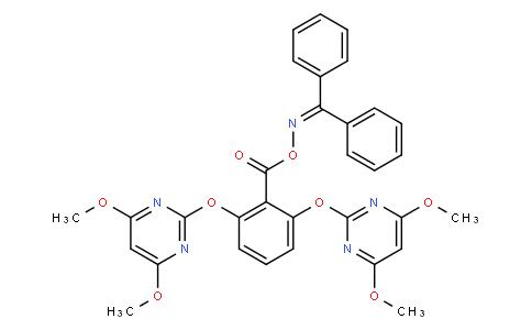 Benzophenone O-(2,6-bis((4,6-dimethoxypyrimidin-2-yl)oxy)benzoyl) oxime