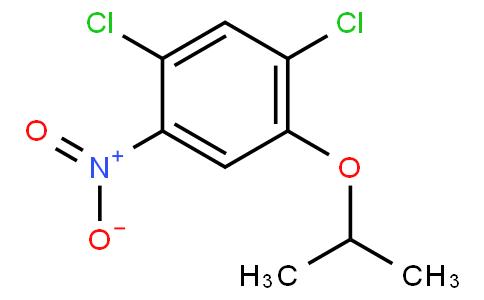 1,5-dichloro-2-(1-methylethoxy)-4-nitrobenzene
