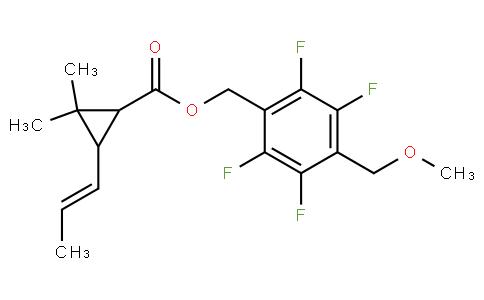 [2,3,5,6-tetrafluoro-4-(methoxymethyl)phenyl]methyl 2,2-dimethyl-3-pro p-1-enyl-cyclopropane-1-carboxylate