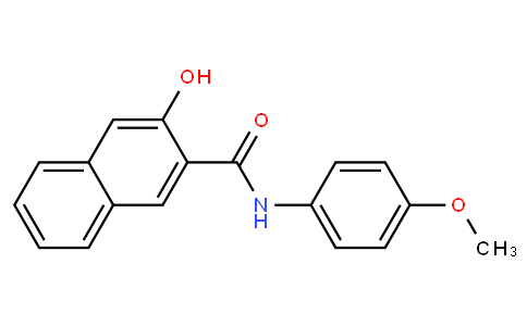 3-Hydroxy-4'-methoxy-2-naphthanilide