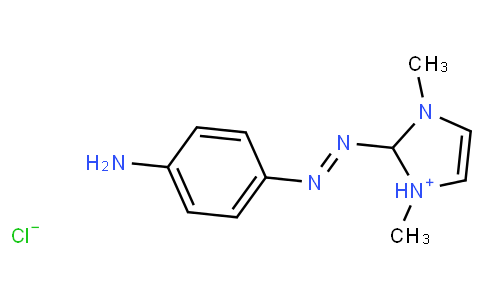 2-[(4-aminophenyl)azo]-1,3-dimethyl-1H-imidazolium chloride