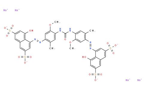 tetrasodium 4,4'-[carbonylbis[imino(5-methoxy-2-methyl-4,1-phenylene)azo]]bis[5-hydroxynaphthalene-2,7-disulphonate]