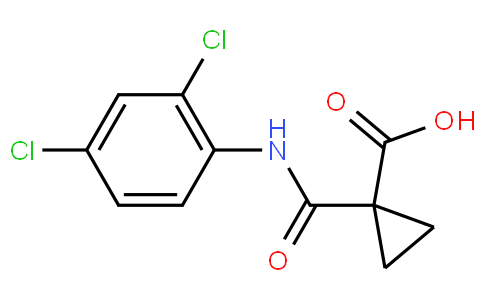 1-((2,4-Dichlorophenyl)carbamoyl)cyclopropanecarboxylic acid