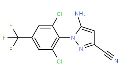 5-Amino-1-(2,6-dichloro-4-(trifluoromethyl)phenyl)-1H-pyrazole-3-carbonitrile