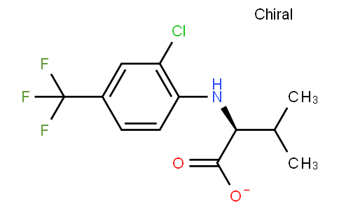 (2S)-2-[[2-chloro-4-(trifluoromethyl)phenyl]amino]-3-methyl-butanoate