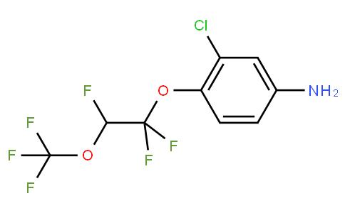 3-Chloro-4-[1,1,2-trifluoro-2-(trifluoromethoxy)ethoxy]benzenamine