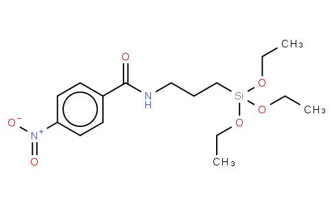 3-(TRIETHOXYSILYLPROPYL)-P-NITROBENZAMIDE