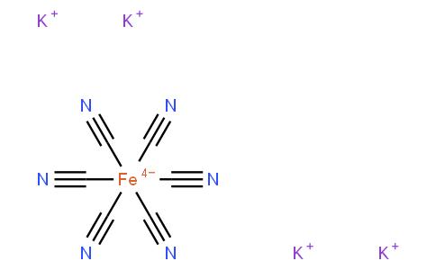 Tetrapotassium hexacyanoferrate trihydrate