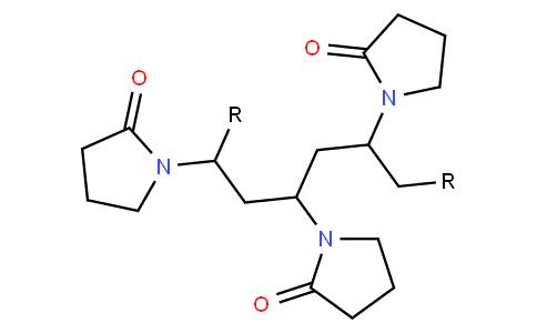 Polyvinylpyrrolidone cross-linked