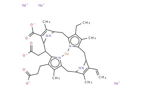 chlorophyllin copper complex sodium salt