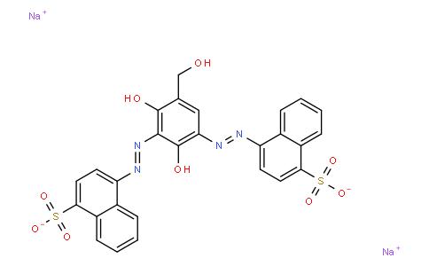 disodium 4,4'-[[2,4-dihydroxy-5-(hydroxymethyl)-1,3-phenylene]bis(azo)]bisnaphthalene-1-sulphonate