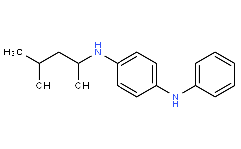 N-(1,3-Dimethylbutyl)-N'-phenyl-p-phenylenediamine