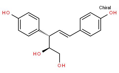 (2S,3S,4E)-3,5-Bis(4-hydroxyphenyl)-4-pentene-1,2-diol